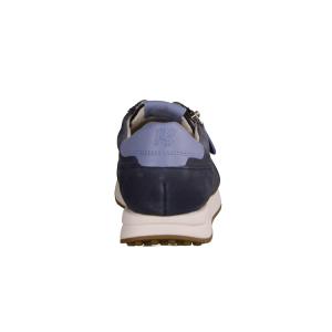 Xsensible Jersey, Blau Navy - sportlicher Schnürschuh Navy
