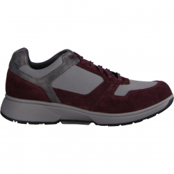 Xsensible Moscow Wine/Grey (rot) - Bequemschuh