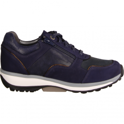 Xsensible Corby Dark Blue (blau) - sportlicher Schnürschuh