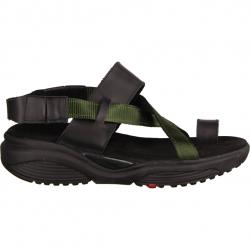 Xsensible Banda Schwarz/Grün - sportliche Sandale